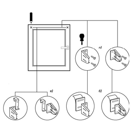 Инструкция по установке рулонных жалюзи